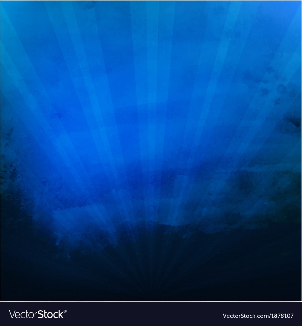 Dark blue texture with sunburst vector | Price: 1 Credit (USD $1)