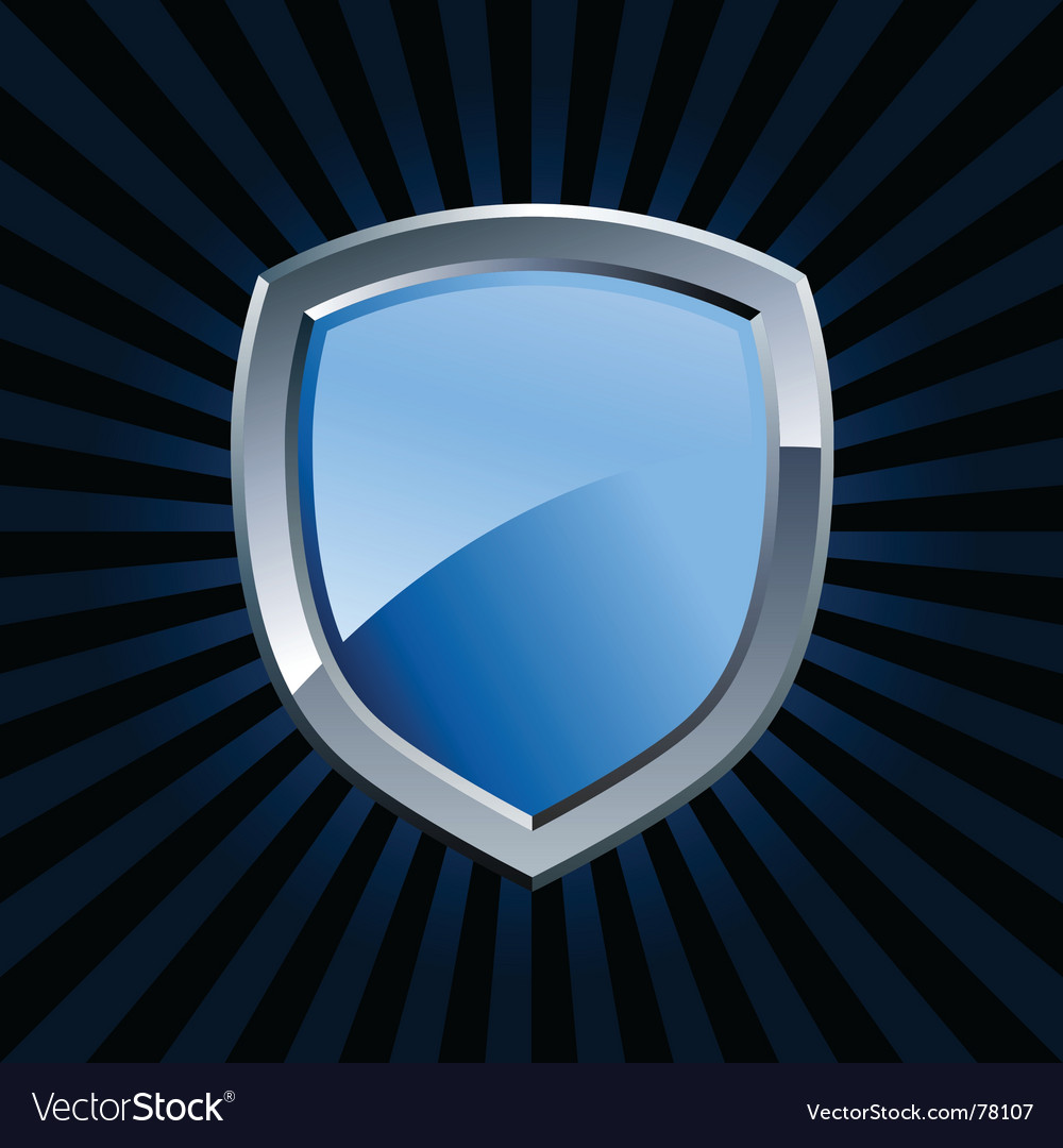Shield emblem vector | Price: 1 Credit (USD $1)