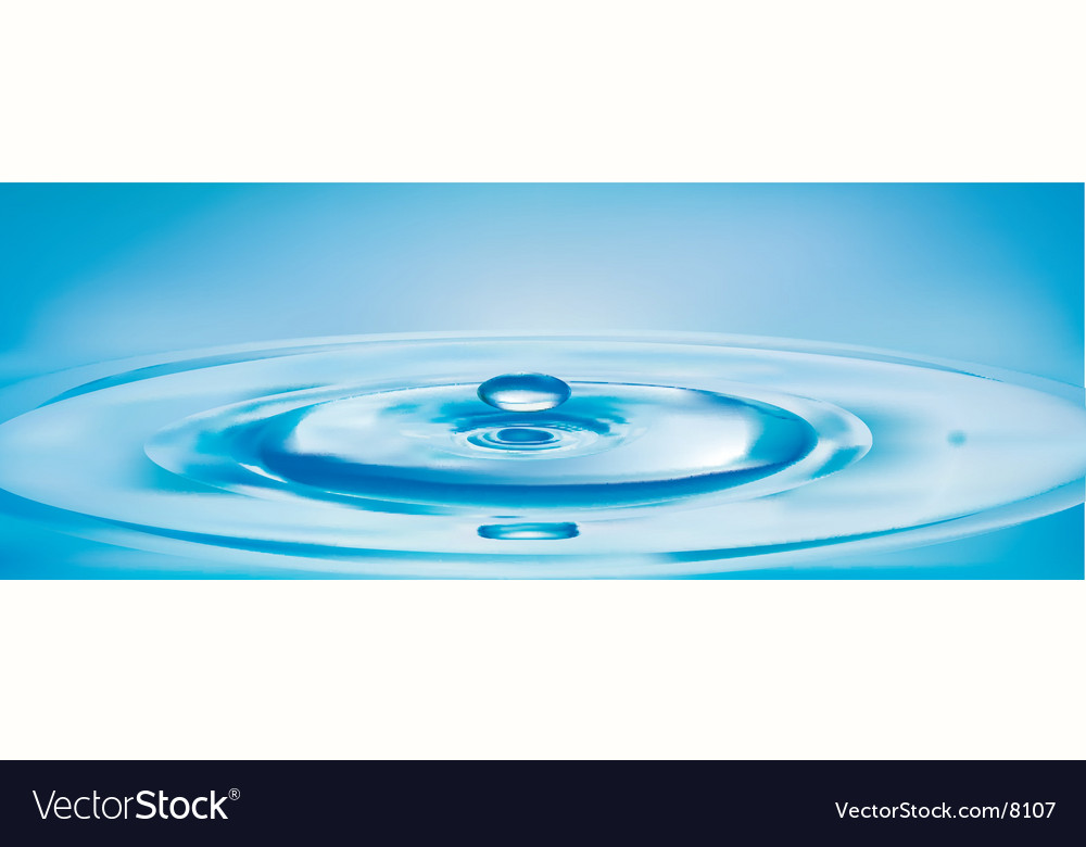 Water drop vector | Price: 3 Credit (USD $3)