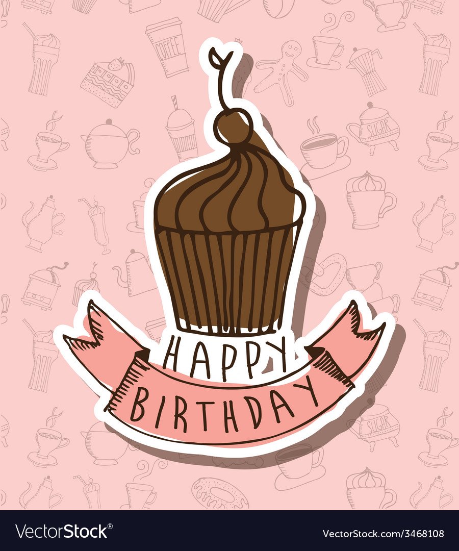 Birthday design vector | Price: 1 Credit (USD $1)