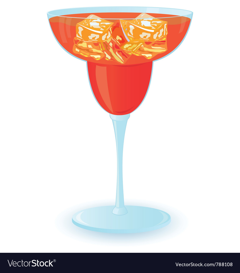 Cocktail with ice vector   Price: 1 Credit (USD $1)