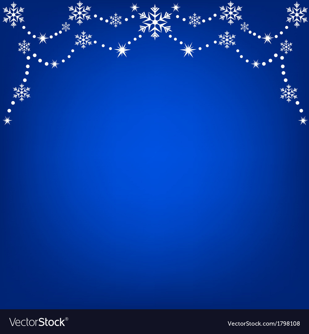 Hanging snowflakes vector | Price: 1 Credit (USD $1)