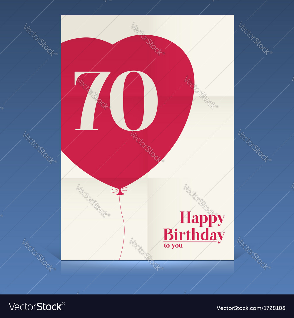 Happy birthday poster vector | Price: 1 Credit (USD $1)