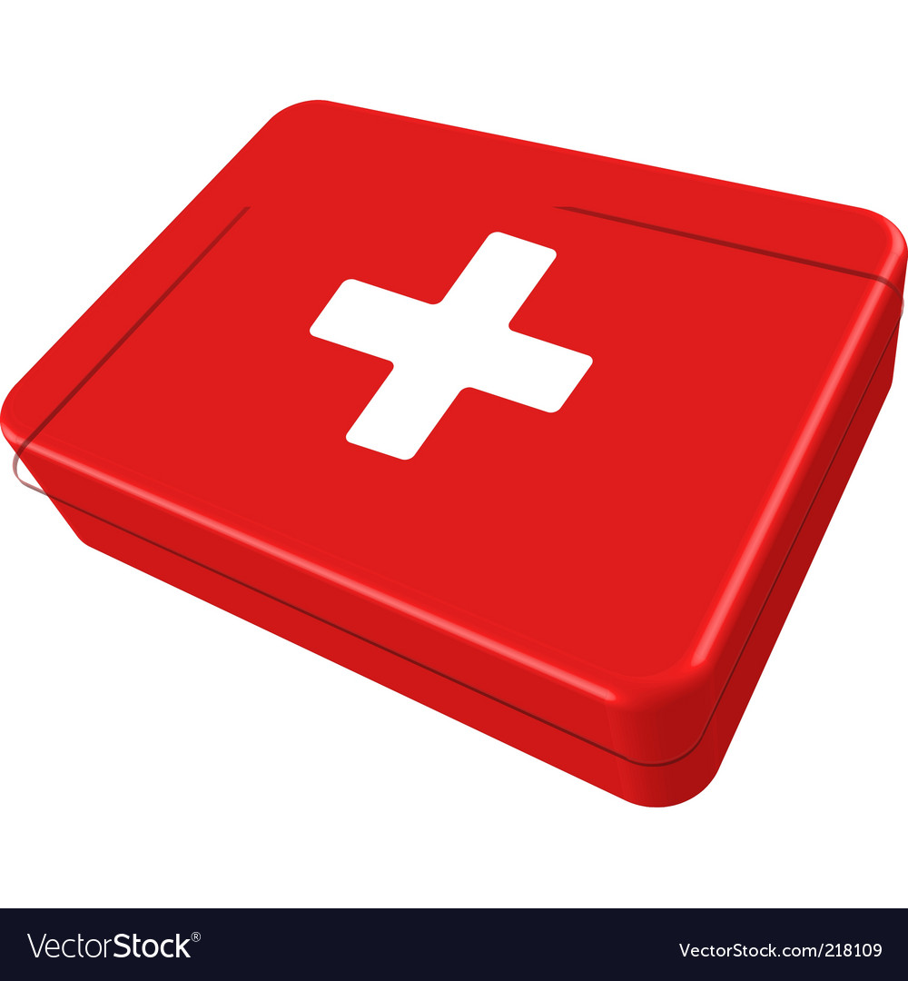 First aid box vector | Price: 1 Credit (USD $1)