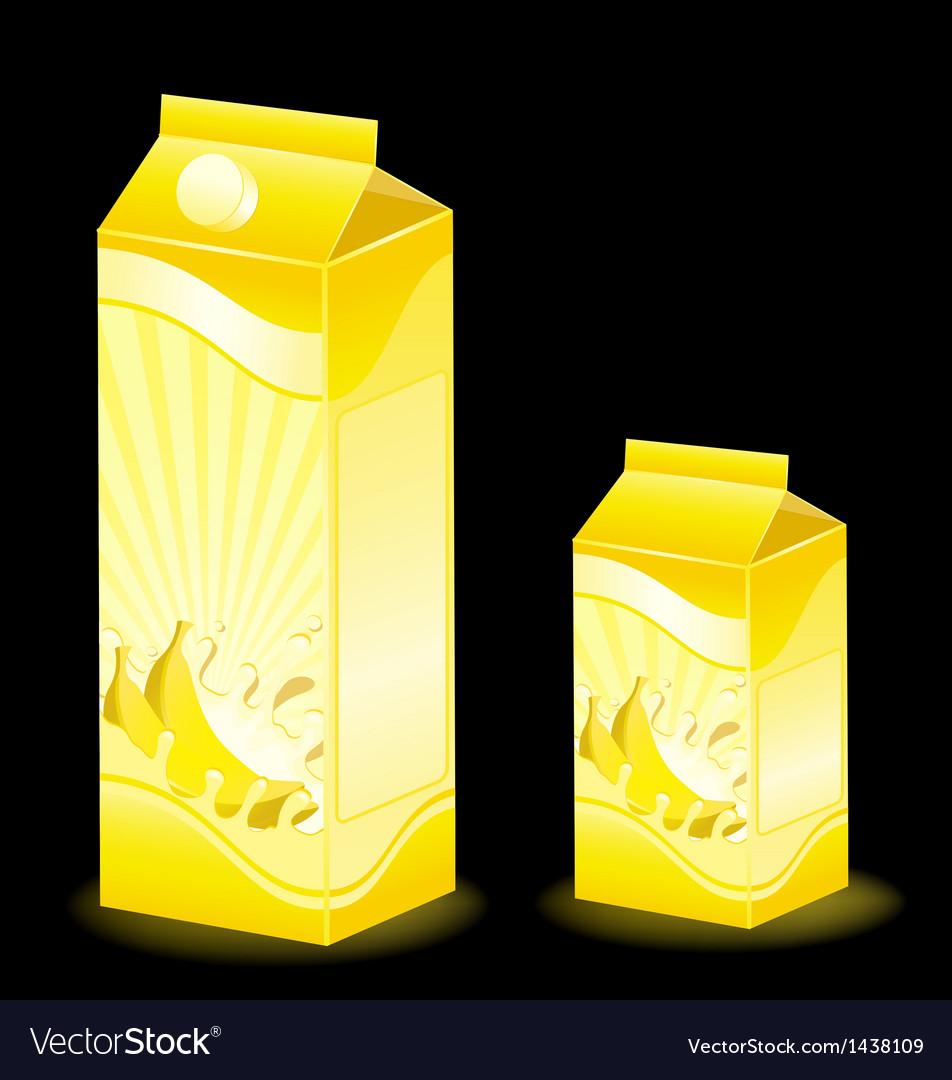 Juice carton with various fruits vector   Price: 1 Credit (USD $1)