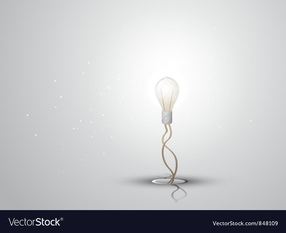 Lamp background vector | Price: 3 Credit (USD $3)