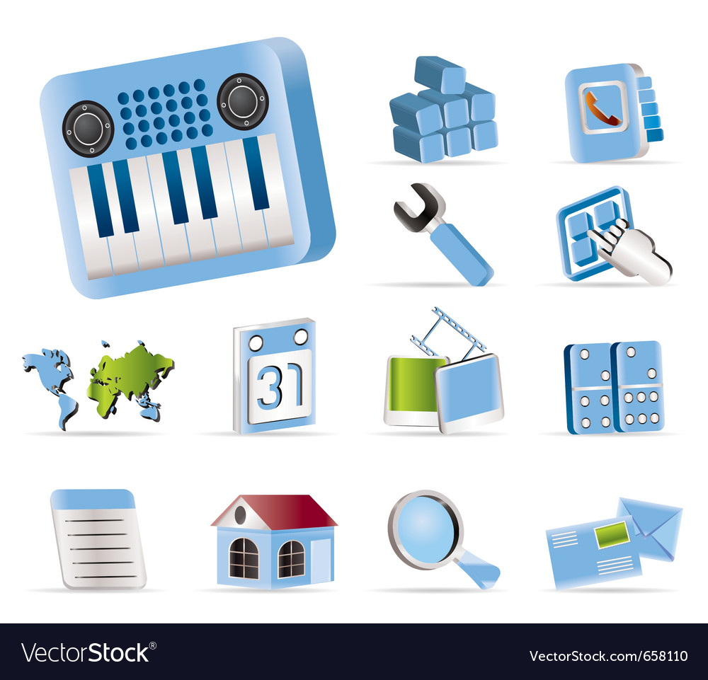 Mobile phone and computer icon vector   Price: 1 Credit (USD $1)
