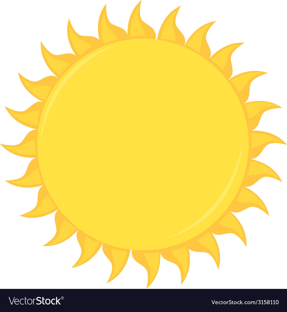 Sun design vector | Price: 1 Credit (USD $1)
