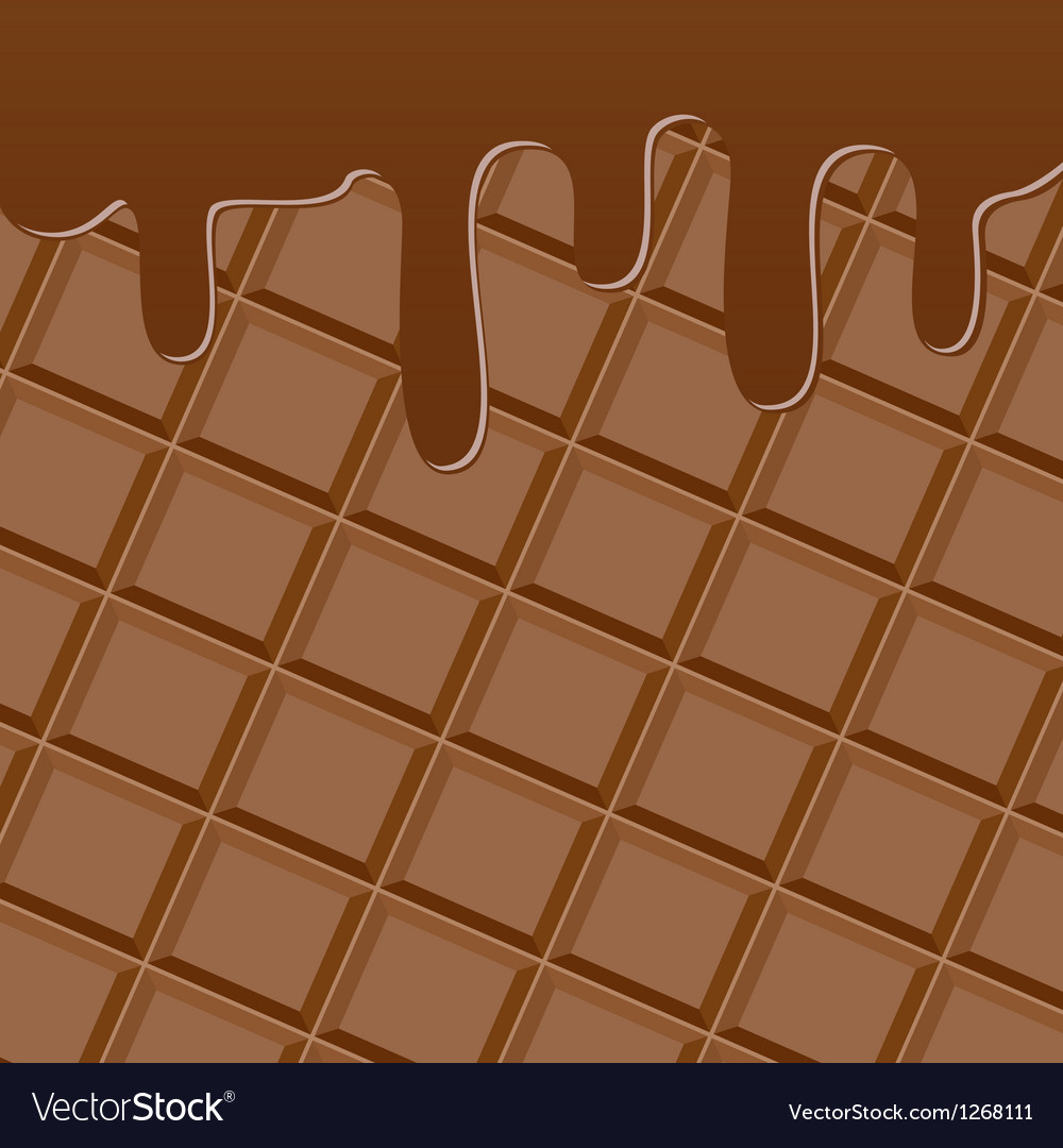 Bar of chocolate vector | Price: 1 Credit (USD $1)