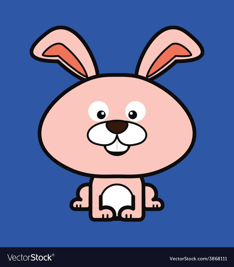Cute rabbit vector | Price: 1 Credit (USD $1)