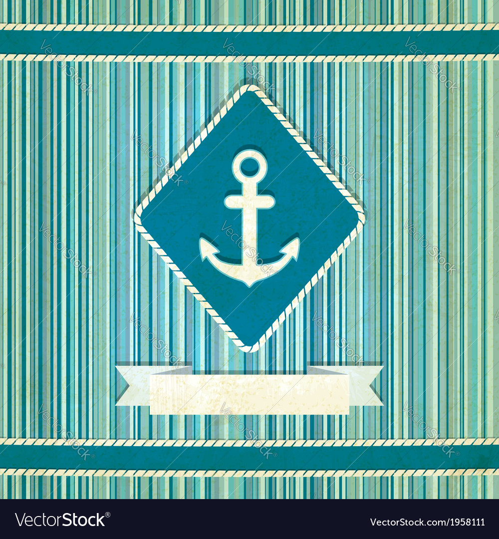 Marine striped old background vector | Price: 1 Credit (USD $1)