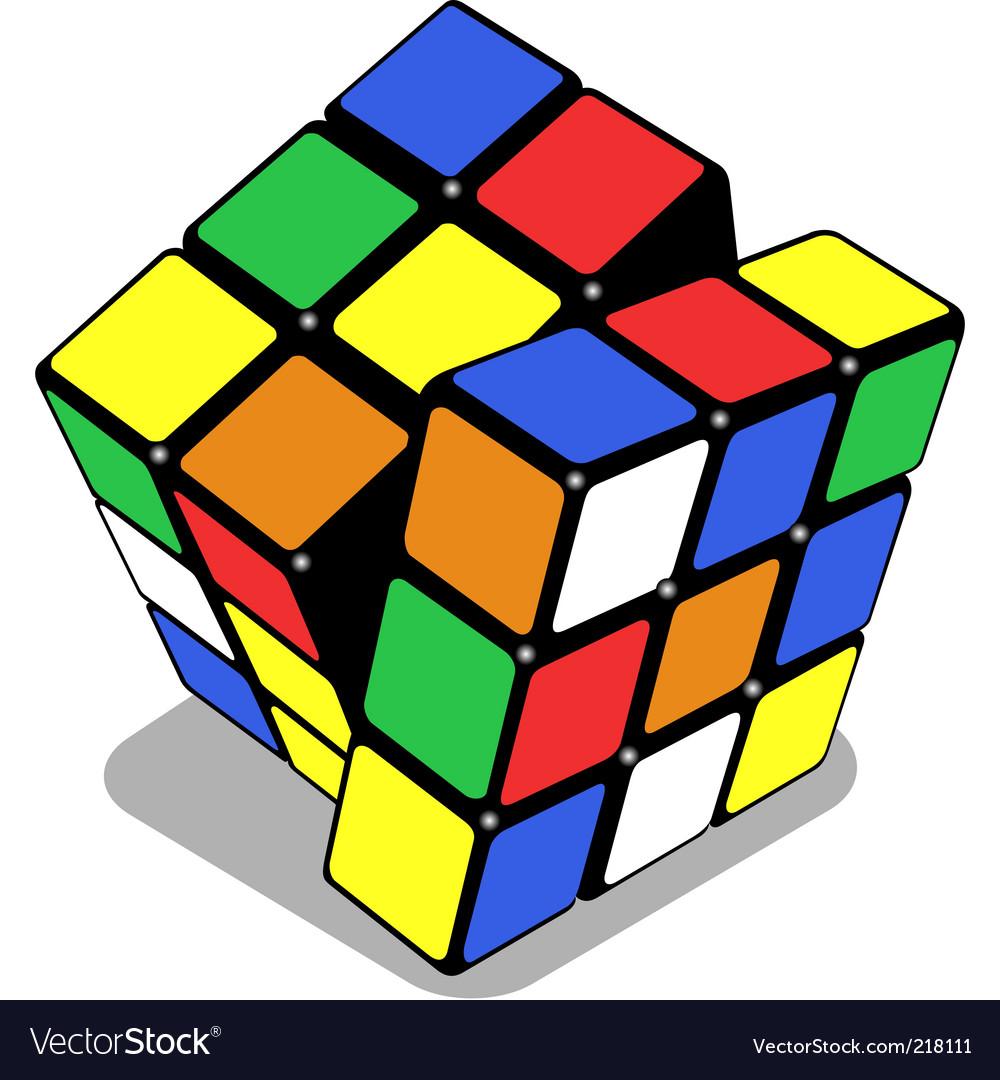 Rubik cube vector | Price: 1 Credit (USD $1)