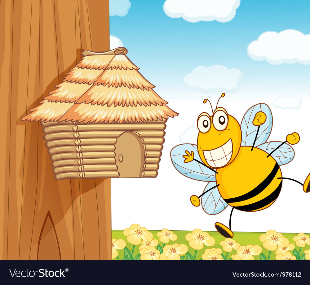 Bee hive vector | Price: 3 Credit (USD $3)