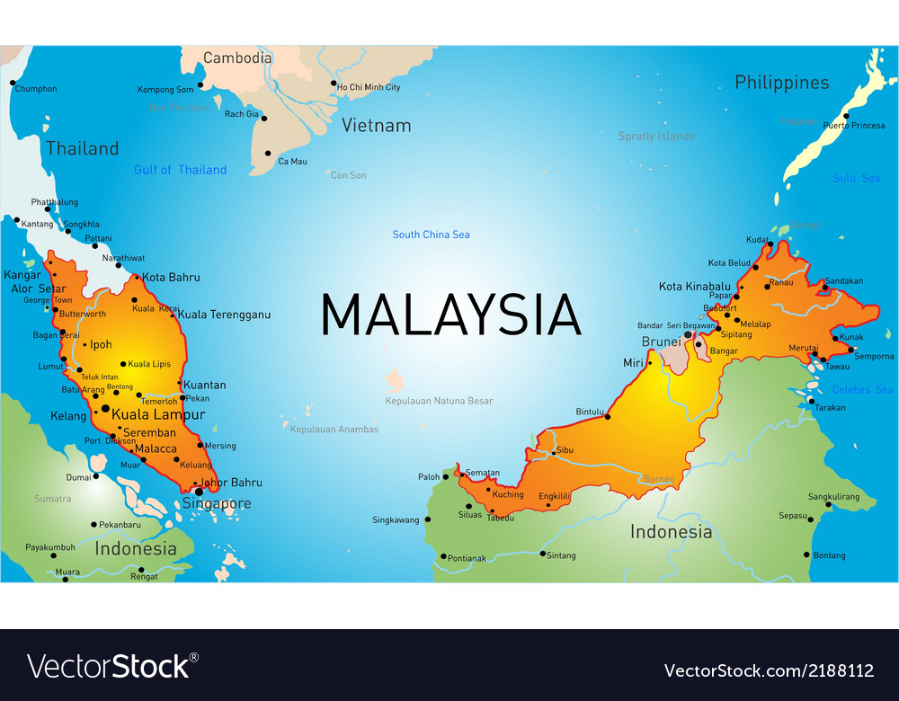 Malaysia vector | Price: 1 Credit (USD $1)