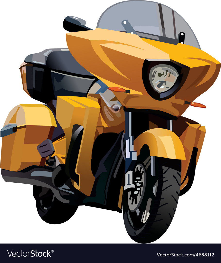 Motorcycle hard vector | Price: 3 Credit (USD $3)