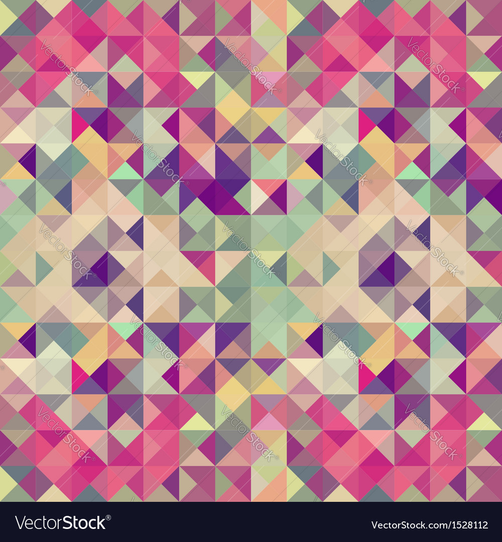 Vintage hipsters geometric pattern vector | Price: 1 Credit (USD $1)