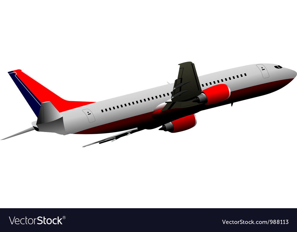 Airplane model vector | Price: 1 Credit (USD $1)