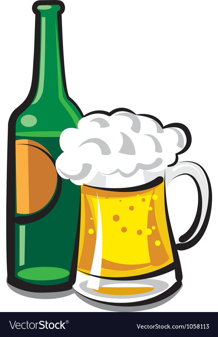 Beer vector | Price: 3 Credit (USD $3)