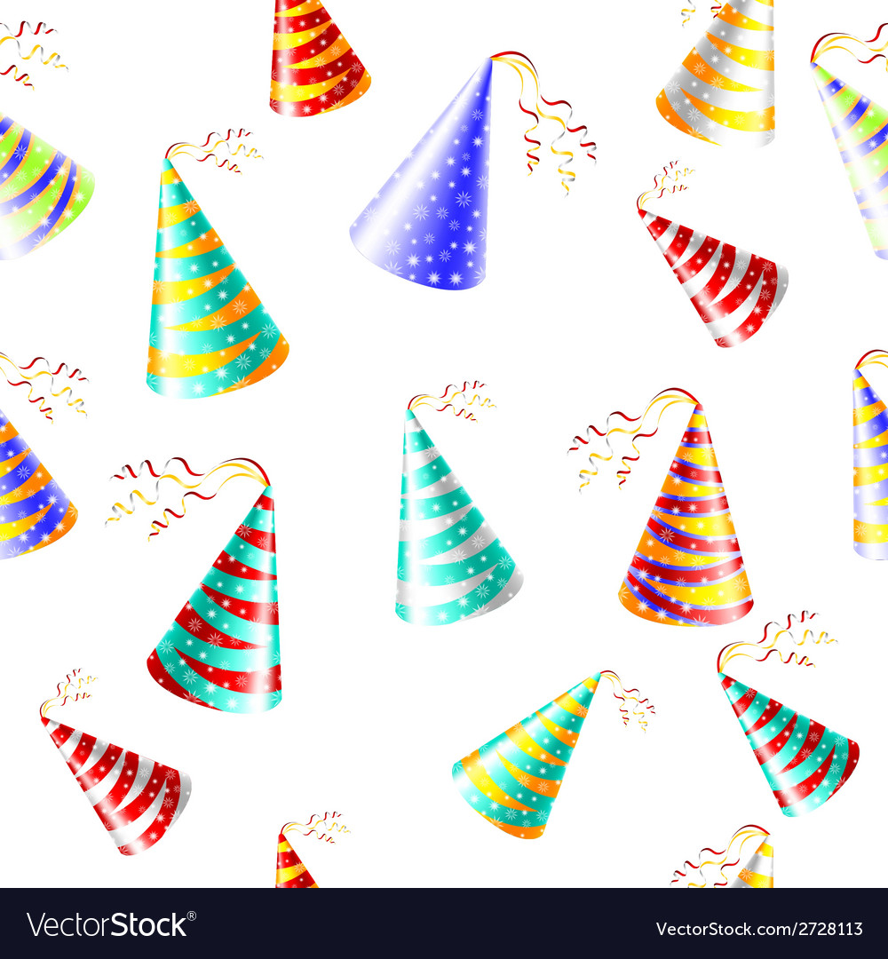 Cap holyday color carnaval holiday party hat vector | Price: 1 Credit (USD $1)