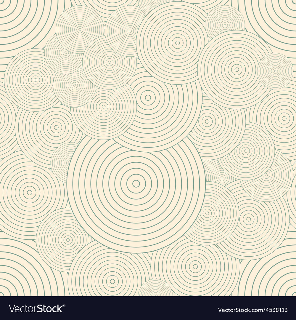 Seamless pattern with circles repeating modern vector   Price: 1 Credit (USD $1)