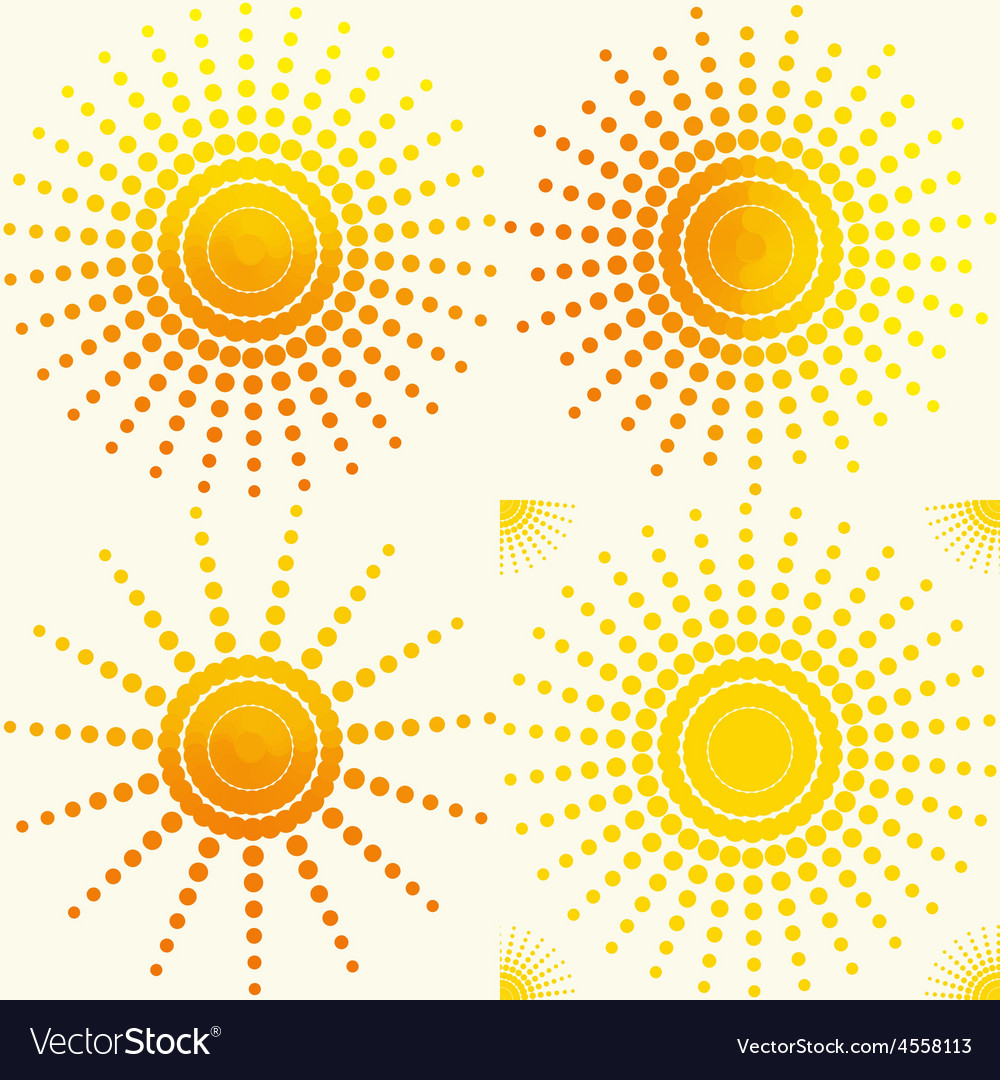 Sunsetpattern vector