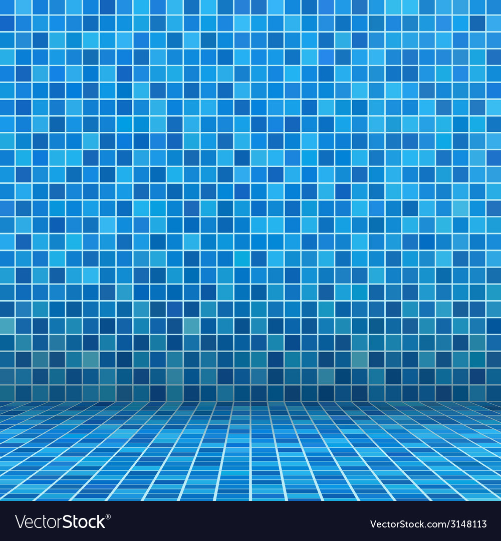 Swimming pool ceramic vector | Price: 1 Credit (USD $1)