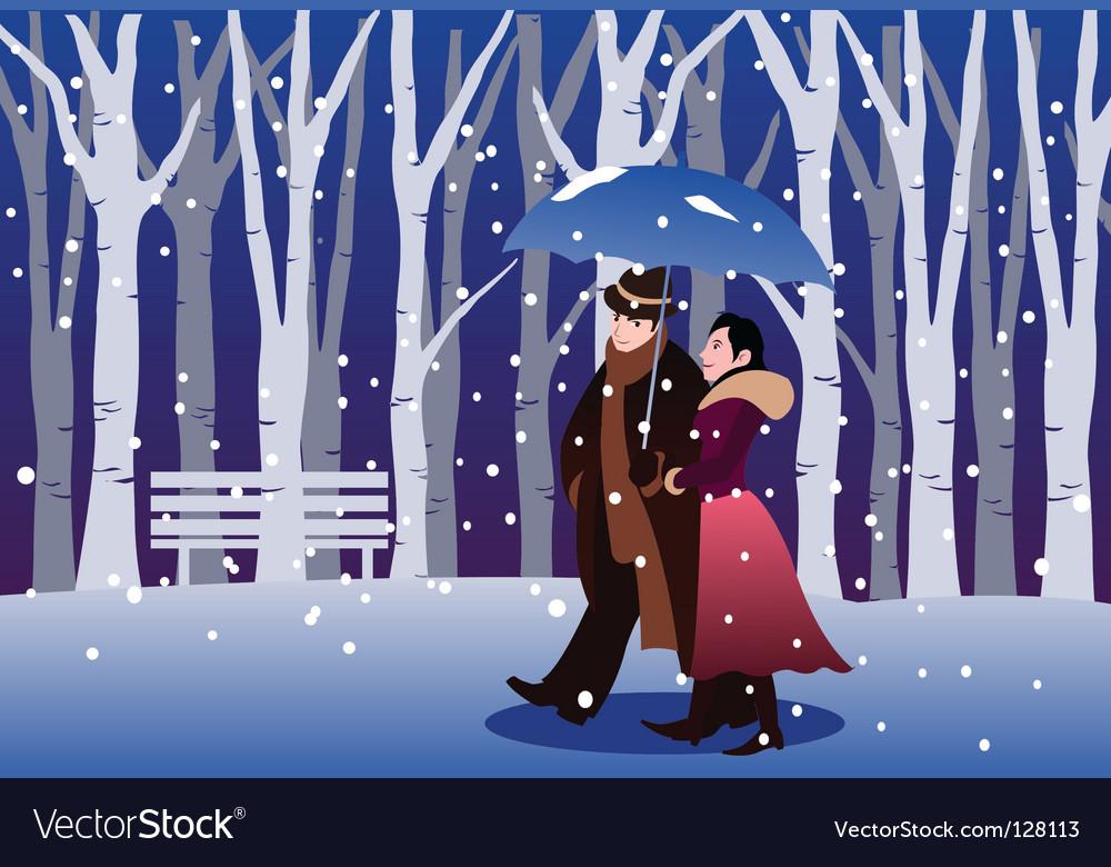 Winter wonder vector | Price: 1 Credit (USD $1)