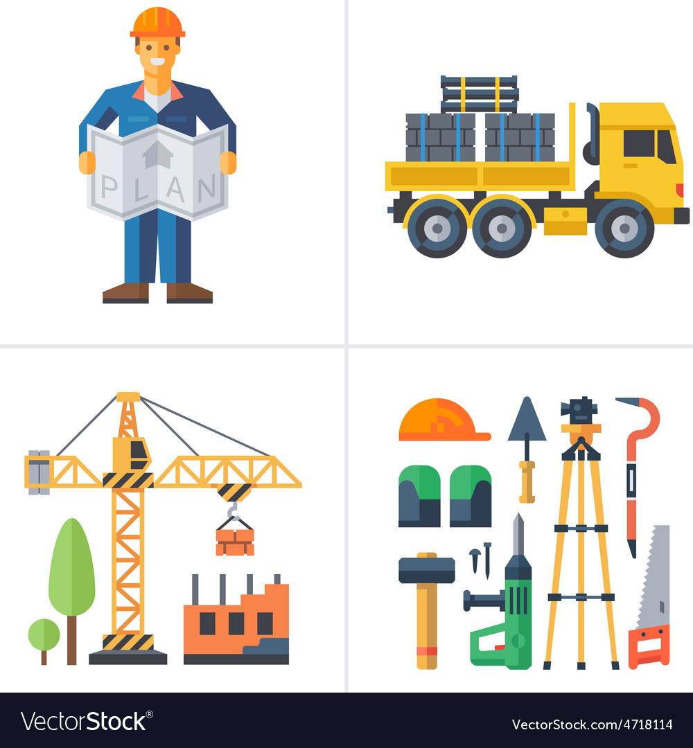 Construction vector | Price: 3 Credit (USD $3)