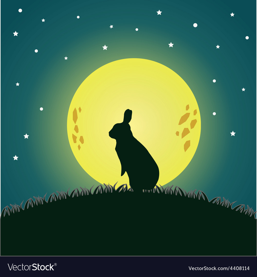 Moon and cony vector | Price: 1 Credit (USD $1)