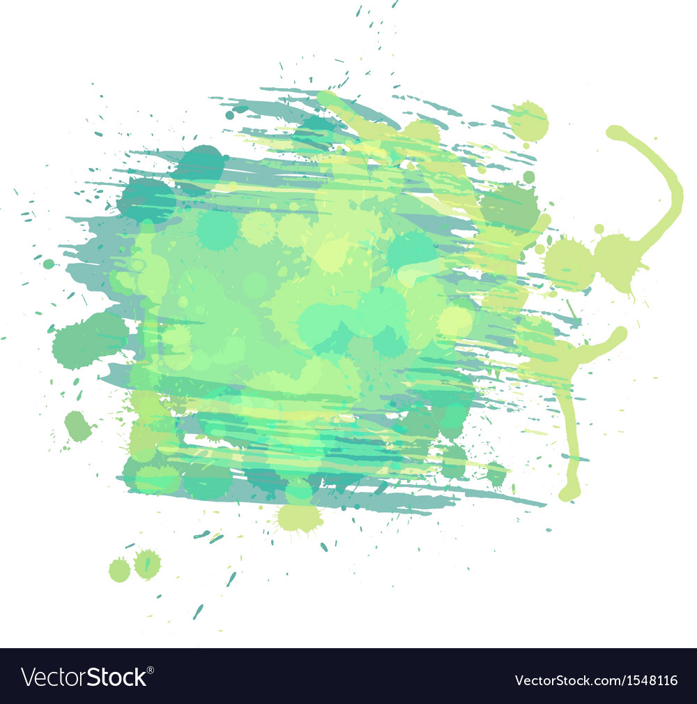 Artistic watercolor background light green and vector | Price: 1 Credit (USD $1)
