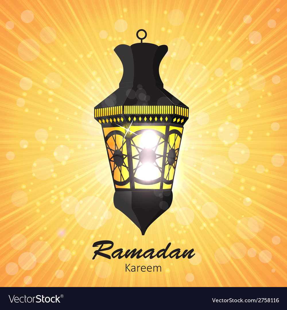 Beauty background for muslim community festival vector | Price: 1 Credit (USD $1)
