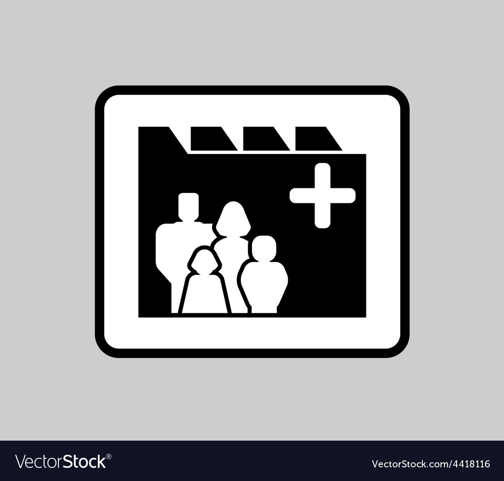 Medicine industrial icon for patient medical vector | Price: 1 Credit (USD $1)