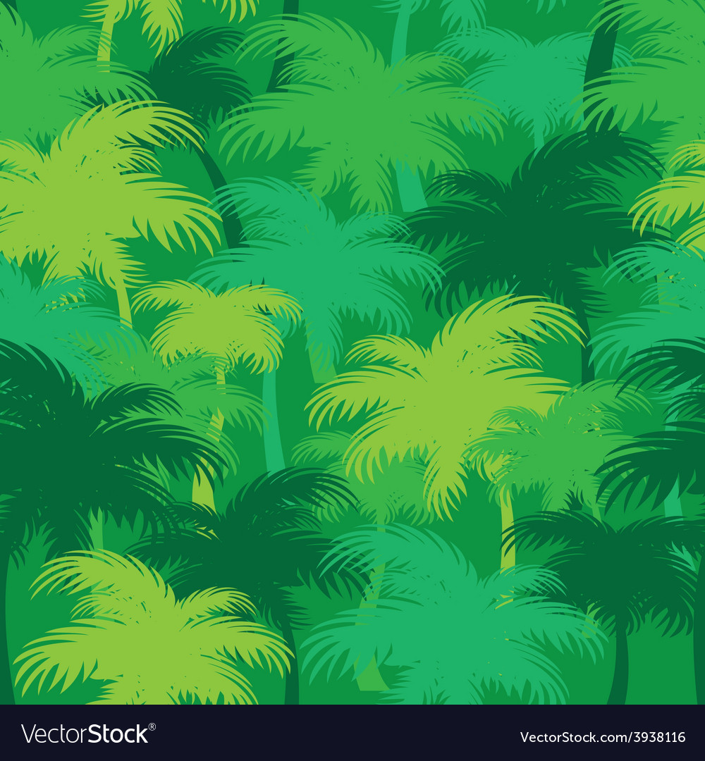 Palm thickets vector | Price: 1 Credit (USD $1)