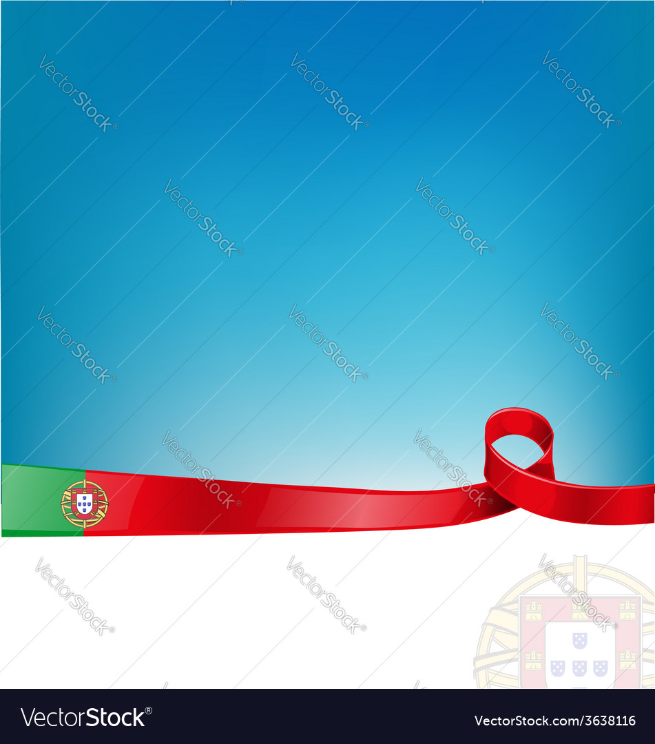 Portugal background vector