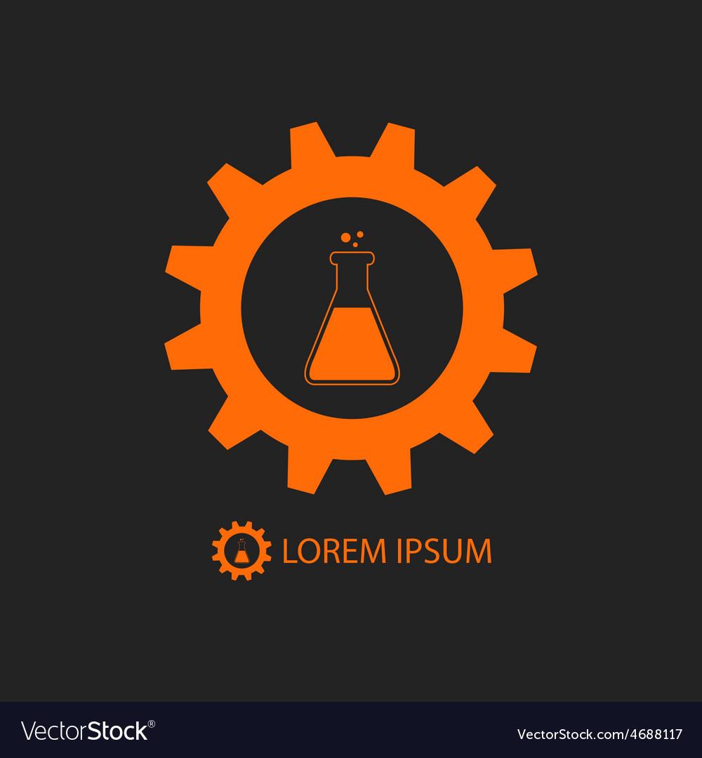 Orange chemical industry logo vector   Price: 1 Credit (USD $1)