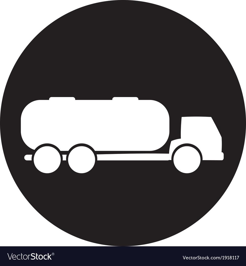Tank truck vector | Price: 1 Credit (USD $1)