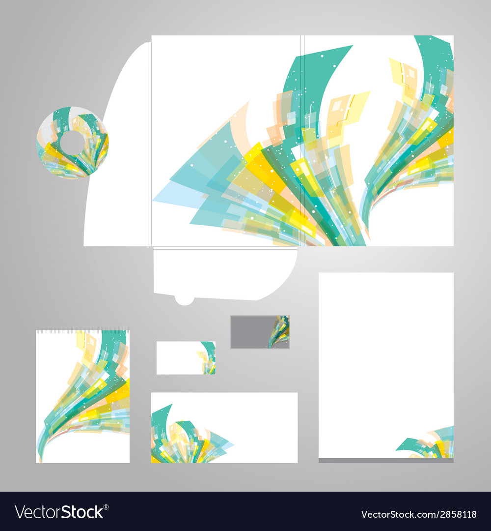 Lively corporate identity vector | Price: 1 Credit (USD $1)