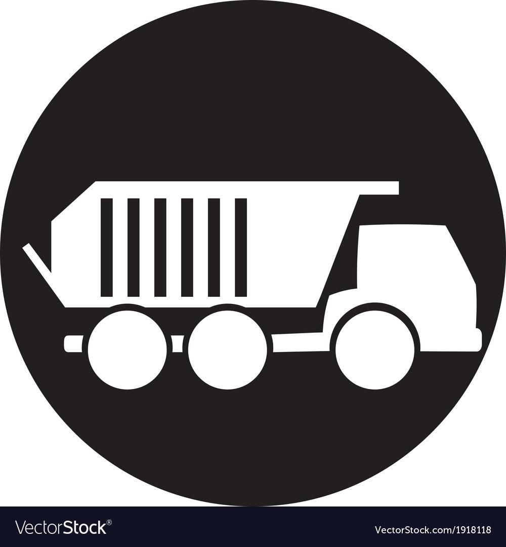 Truck icon vector | Price: 1 Credit (USD $1)