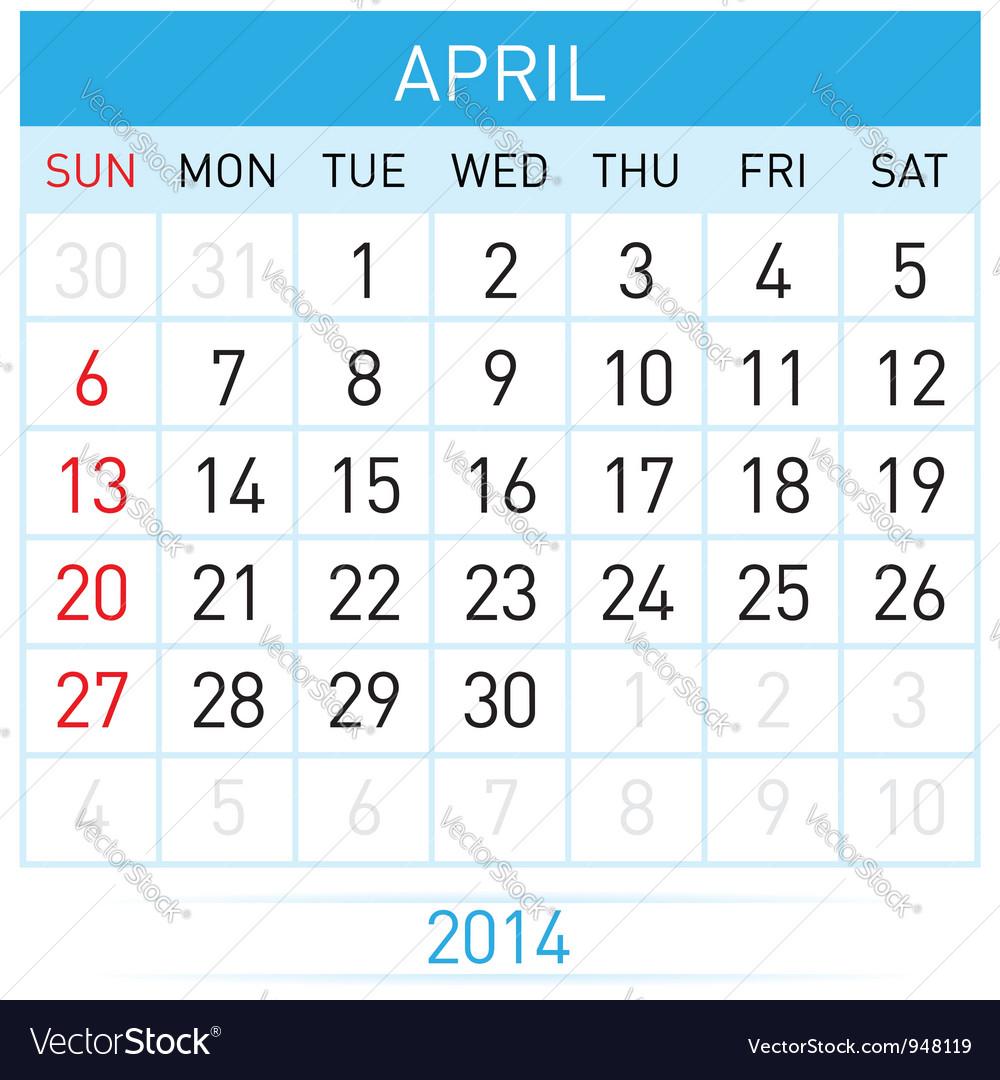 Calendar month vector   Price: 1 Credit (USD $1)