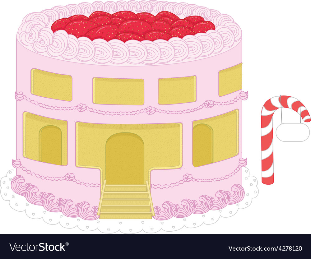 Strawberry cheesecake home graphics vector   Price: 1 Credit (USD $1)