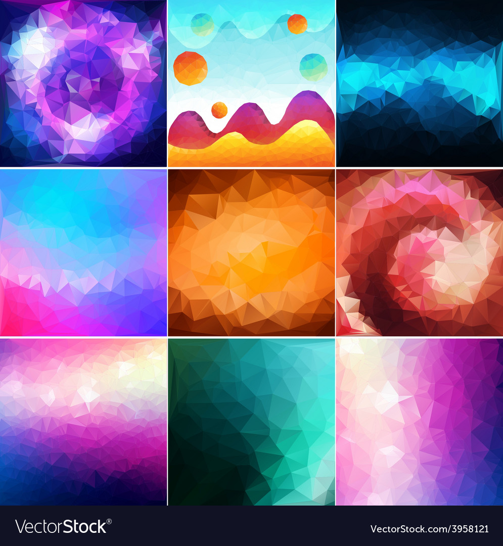 Abstract geometric gallery vector | Price: 1 Credit (USD $1)