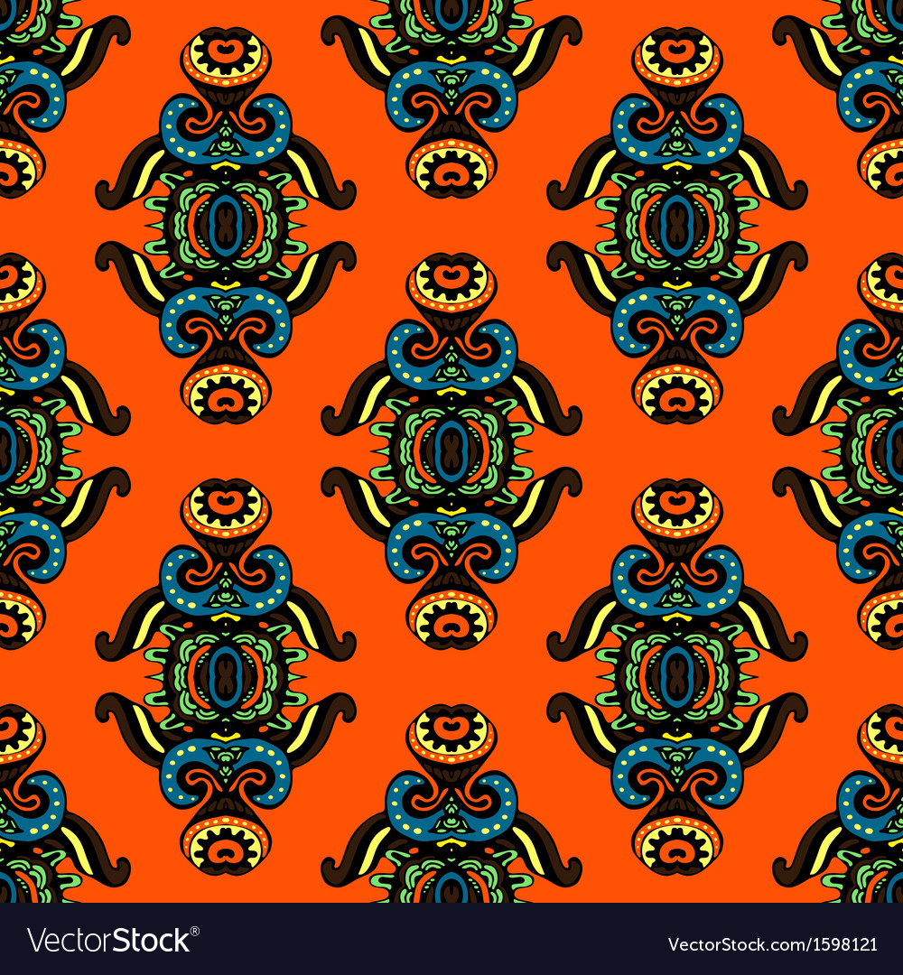 Seamless pattern contemporary design vector | Price: 1 Credit (USD $1)