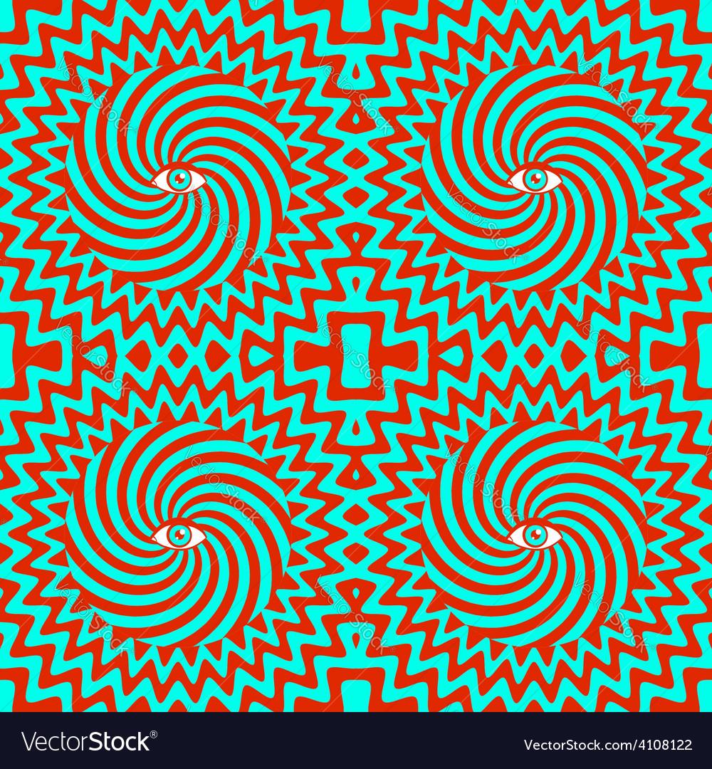 Hypnotic pattern bright vector | Price: 1 Credit (USD $1)