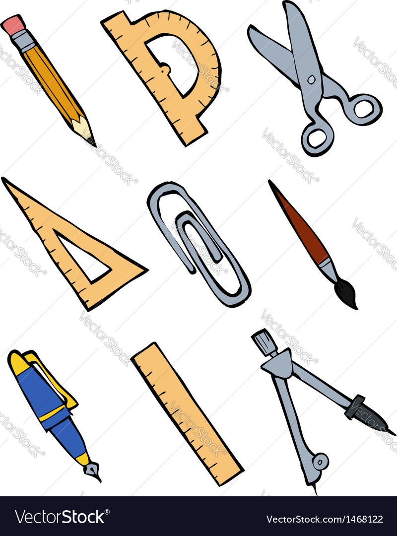 Stationery vector   Price: 1 Credit (USD $1)