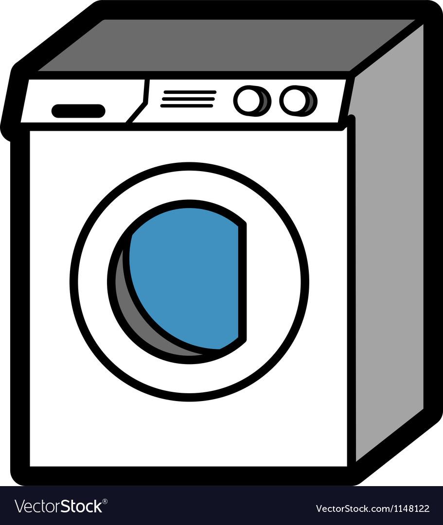 Washing machine vector   Price: 1 Credit (USD $1)