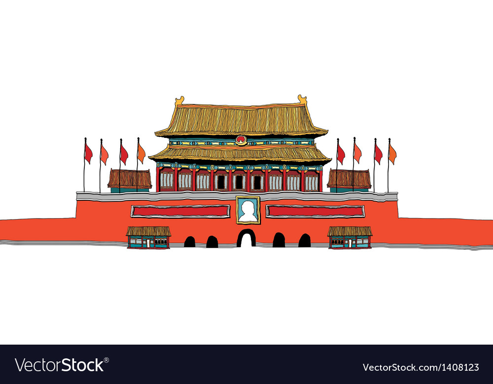 A view of palace vector   Price: 1 Credit (USD $1)