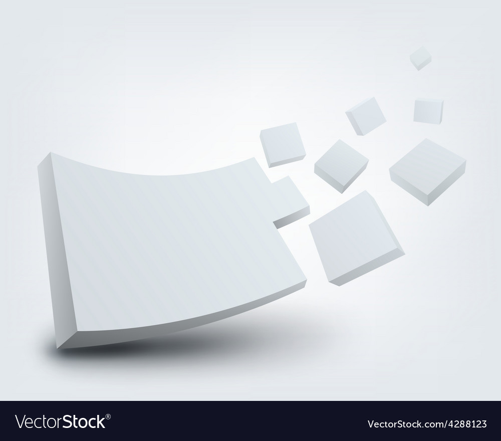 Abstract 3d with place for vector | Price: 3 Credit (USD $3)