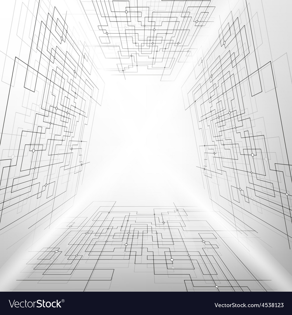 Abstract background  technical vector | Price: 1 Credit (USD $1)