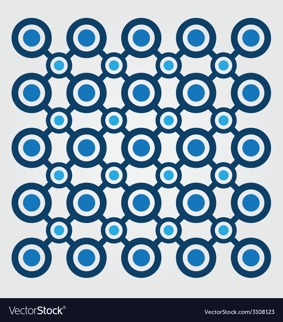 Background with blue circles vector | Price: 1 Credit (USD $1)
