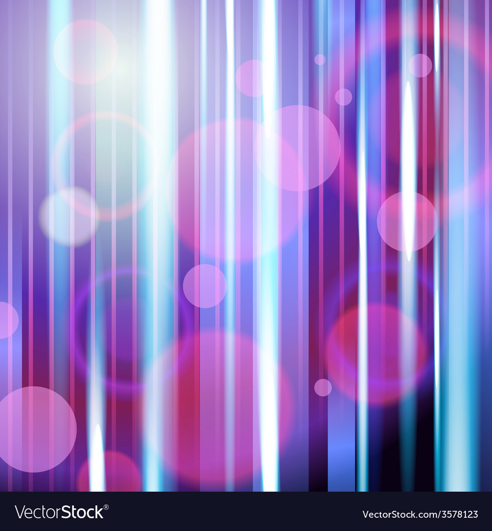 Dark violet abstract background with neon rays vector   Price: 1 Credit (USD $1)